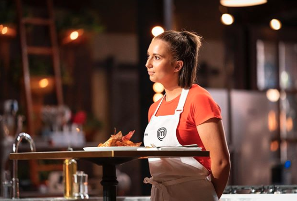 Laura Sharrad on MasterChef 2020