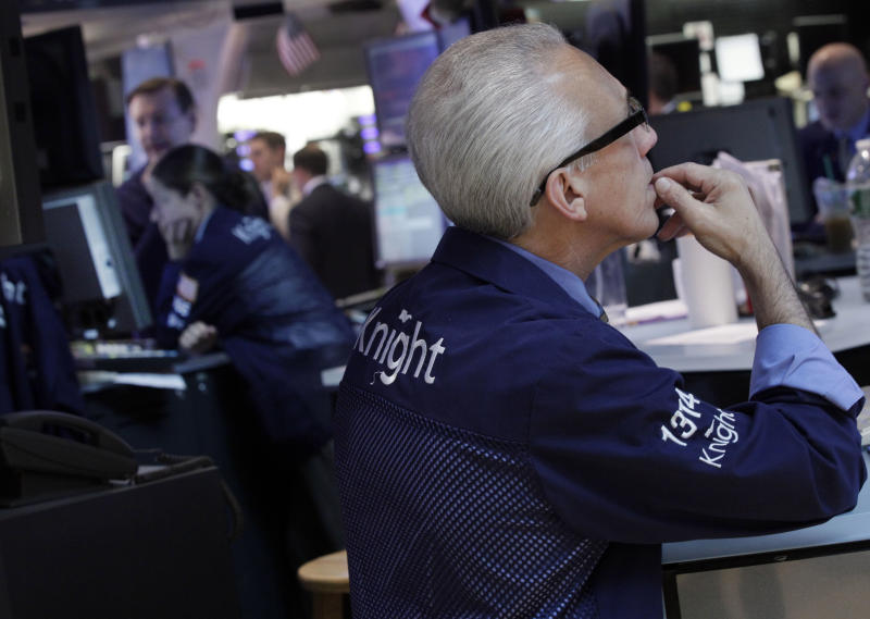 The market's August lull nears an end; stocks fall