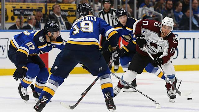 Tarasenko has goal, 2 assists as Blues beat Avalanche 3-1