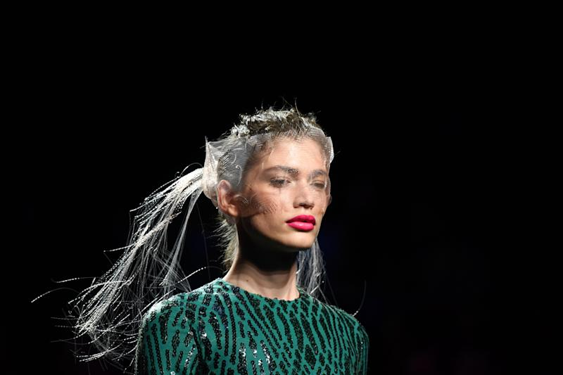 Transgender model Valentina Sampaio has been hired by Victoria's Secret [Photo: Getty]