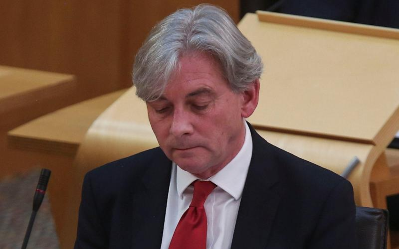 Richard Leonard is fighting a campaign to oust him as Scottish Labour leader - Getty Images Europe