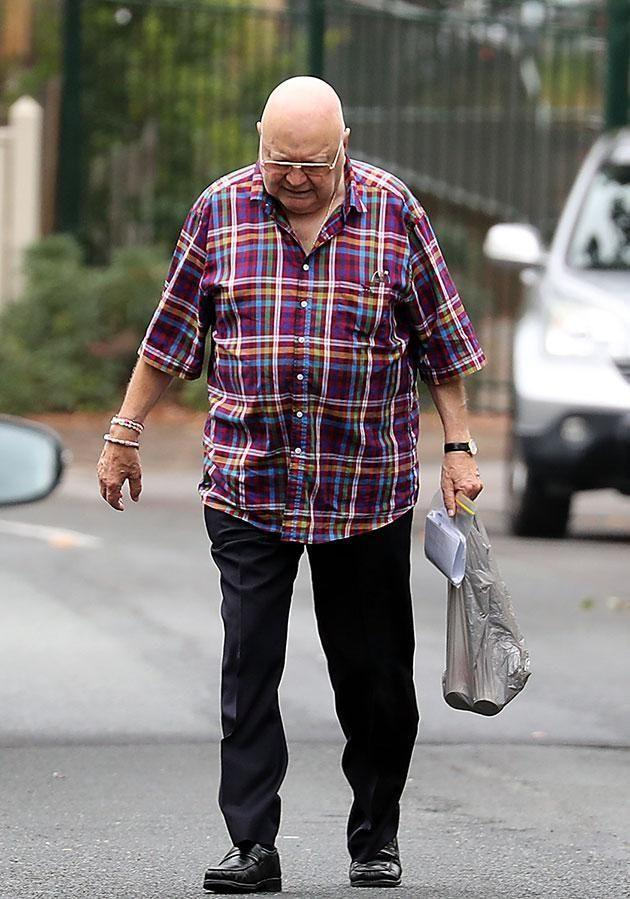 Bert was out and about just days after his hospitalisation last month. Source: Diimex