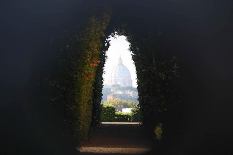 The Aventine Keyhole is a semi-secret viewpoint that's worth seeing. Source: Holly O'Sullivan
