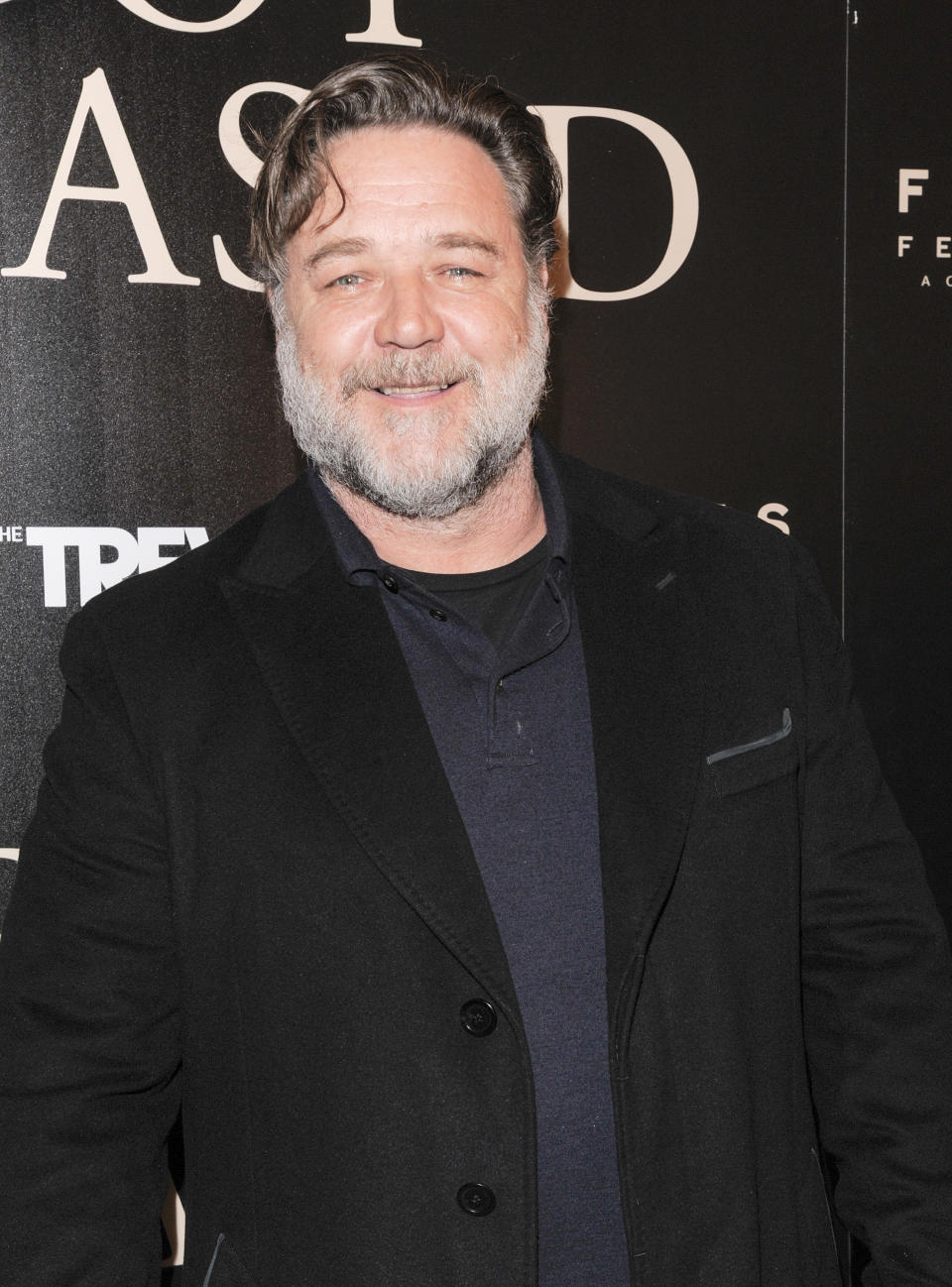 Russell Crowe attends the New York screening of Boy Erased at the Whitby Hotel Manhattan.