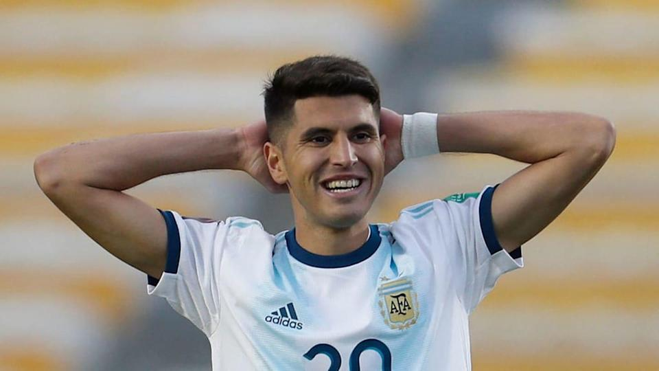 Bolivia v Argentina - South American Qualifiers for Qatar 2022 - Exequiel Palacios. | Pool/Getty Images