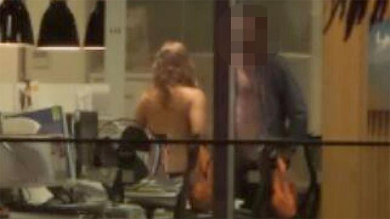 Workers caught in office sex romp