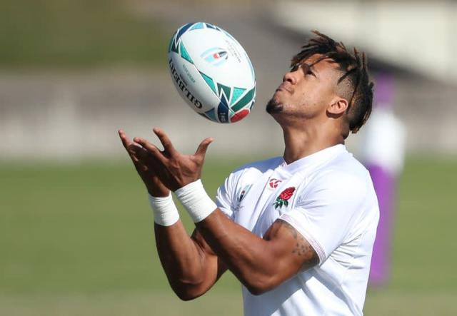 FILE PHOTO: Rugby World Cup - Final - England Captain's Run