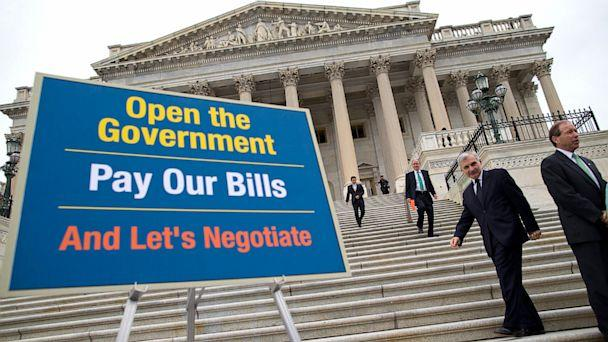 AP budget battle nt 131009 16x9 608 Debt Ceiling vs. Government Shutdown: 5 Questions Answered