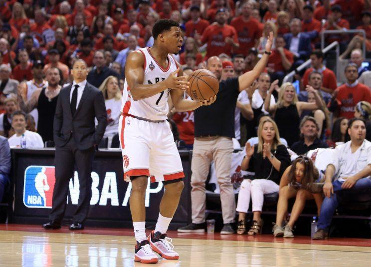 Have Kyle Lowry and the Raptors already hit their ceiling? (Getty Images)