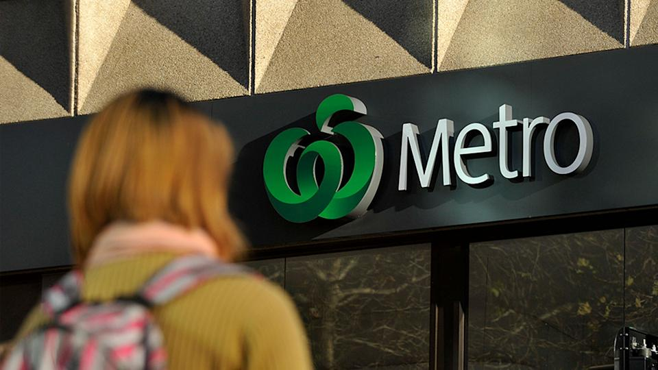 Majority of the stores taking part in the cashless payments trial at Woolworths Metro stores have started accepting cash again. Source: AAP