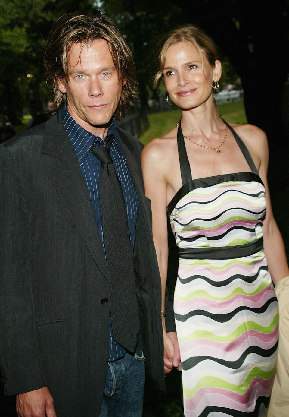 """Bacon and Sedgwick attend the Public Theater's summer benefit and opening night performance of """"Much Ado About Nothing"""" at Delacorte Theater in Central Park."""