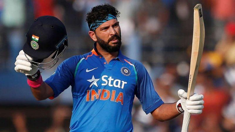 Yuvraj Singh bowled some handy left-arm orthodox apart from his destructive batting