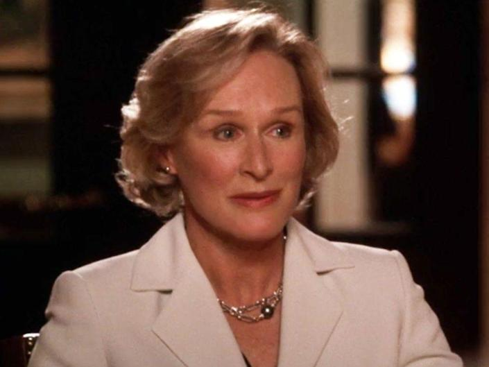 glenn close on the west wing
