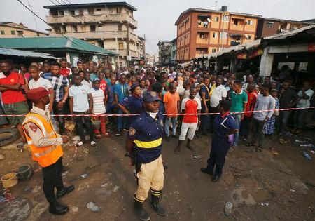 At least nine killed in Nigeria building collapse