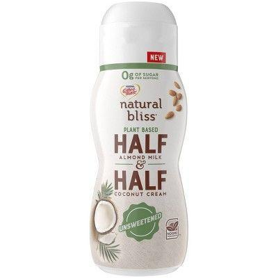 """<p><strong>Coffee-mate</strong></p><p>target.com</p><p><strong>$3.19</strong></p><p><a href=""""https://www.target.com/p/coffee-mate-natural-bliss-unsweetened-plant-based-half-half-1pt/-/A-54150042"""" rel=""""nofollow noopener"""" target=""""_blank"""" data-ylk=""""slk:BUY NOW"""" class=""""link rapid-noclick-resp"""">BUY NOW</a></p><p>This half-and-half couldn't be more perfect for those who are keto AND plant-based. Zero added sugars, huzzah!</p>"""