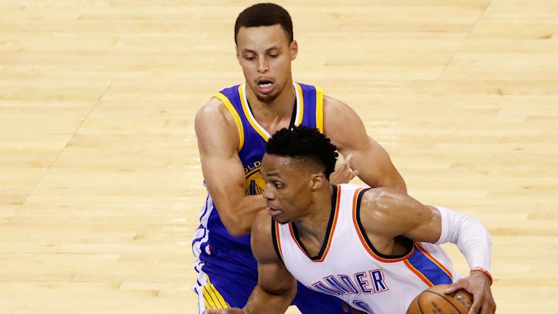 Russell Westbrook: Stephen Curry scuffle about protecting teammates