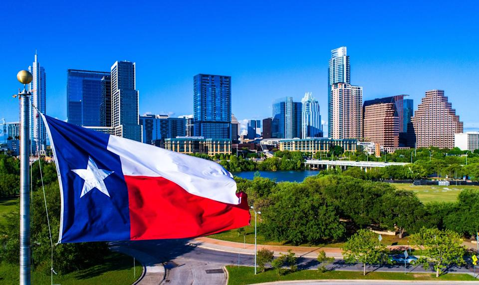 Austin, Texas, has seen an influx of tech workers since beginning of pandemic (Getty Images/iStockphoto)