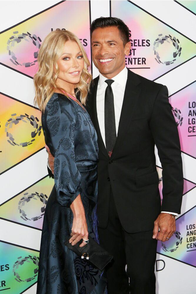 Kelly and Mark | Maury Phillips/Getty