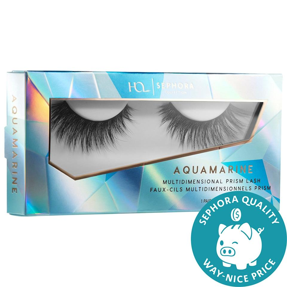 <p>Each one of the <span>House of Lashes x Sephora Collection Multidimensional Prism Lashes</span> ($15) are named for a different crystal including amethyst, rose quartz, and lapis. They're all made of synthetic fiber blends with several boasting layers of lashes for even more dimension and density.</p>