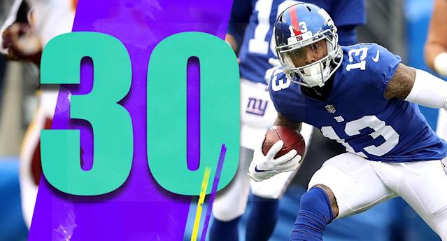 "<p>Are we sure the NFL can't flex Giants-49ers out of ""Monday Night Football"" next week? (Odell Beckham Jr.) </p>"