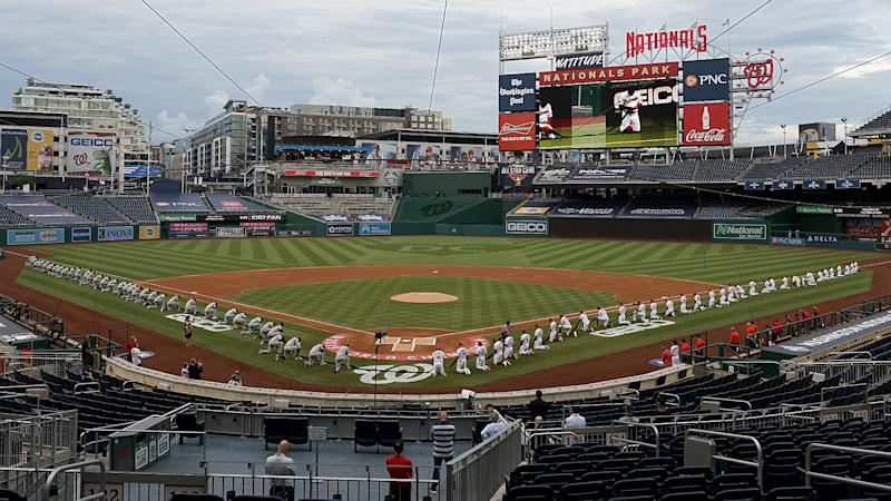 Yankees, Nationals kneeling prior to national anthem met with mixed response