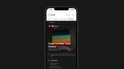 Creatd announces record-breaking results of its True Colors Poetry Challenge, sponsored by Moleskine