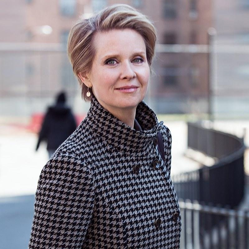 Cynthia Nixon: 'I Have a Right to Be Here'