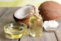 """You season your skillets, but are you doing enough to ensure your wooden cutting boards remain as good as new? Dimmick suggests using coconut oil on wooden cutting boards to maintain the health of the wood. And if you need more convincing, a 2013 study published in the <a href=""""https://www.ncbi.nlm.nih.gov/pubmed/24328700"""" rel=""""nofollow noopener"""" target=""""_blank"""" data-ylk=""""slk:Journal of Medicinal Food"""" class=""""link rapid-noclick-resp""""><em>Journal of Medicinal Food</em></a> found that coconut oil is effective at inhibiting bacterial growth."""