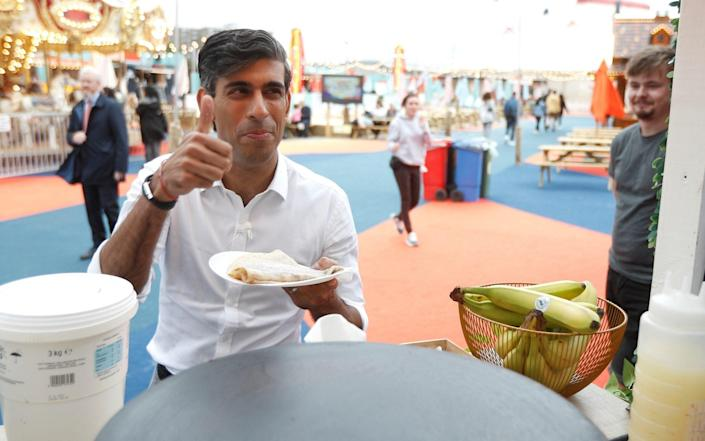 'Rishi Sunak is offering then some crumbs off the table,' says Christine Jardine - Getty