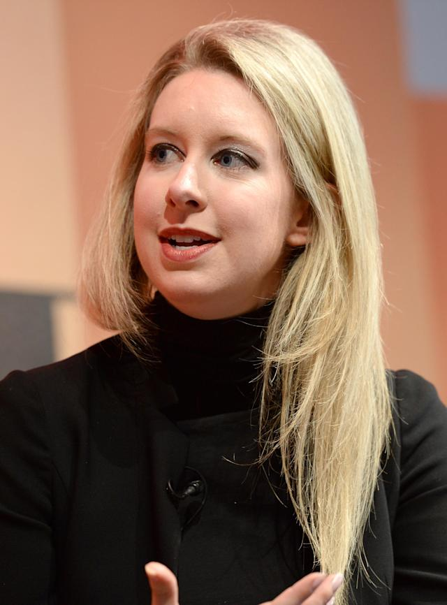 "Elizabeth Holmes, the former CEO of Theranos, is charged with ""massive fraud."" (Photo: Getty Images)"