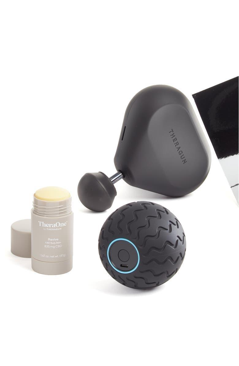 """<h2>Theragun Mini, Wave Solo & Revive Stick Massage Bundle</h2><br><strong>SELLING FAST</strong><br>We stan a <a href=""""https://www.nordstrom.com/brands/theragun--20399"""" rel=""""nofollow noopener"""" target=""""_blank"""" data-ylk=""""slk:Theragun"""" class=""""link rapid-noclick-resp"""">Theragun</a> deal! And this 38% off mini bundle — packed with two massage devices and a pain-relieving organic CBD stick — has sell-out material written all over it.<br><br><em>Shop more <a href=""""https://go.skimresources.com?id=30283X879131&xs=1&url=https%3A%2F%2Fwww.nordstrom.com%2Fbrowse%2Fanniversary-sale%2Fall%3Fcampaign%3D0728publicgnpt1%26jid%3Dj012165-15573%26cid%3D00000%26cm_sp%3Dmerch-_-anniversary_15573_j012165-_-catpromo_corp_persnav_shop%26%3D%26postalCodeAvailability%3D10543%26filterByBrand%3Dtheragun&sref=https%3A%2F%2Fwww.refinery29.com%2Fen-us%2Fnordstrom-anniversary-sale-best-sellers"""" rel=""""nofollow noopener"""" target=""""_blank"""" data-ylk=""""slk:Nordstrom Anniversary Theragun deals"""" class=""""link rapid-noclick-resp"""">Nordstrom Anniversary Theragun deals</a></em><br><br><strong>Theragun</strong> Mini, Wave Solo & Revive Stick Massage Bundle, $, available at <a href=""""https://go.skimresources.com/?id=30283X879131&url=https%3A%2F%2Fwww.nordstrom.com%2Fs%2Ftheragun-mini-wave-solo-revive-stick-massage-bundle%2F5936072"""" rel=""""nofollow noopener"""" target=""""_blank"""" data-ylk=""""slk:Nordstrom"""" class=""""link rapid-noclick-resp"""">Nordstrom</a>"""