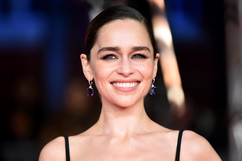 Emilia Clarke is addressing complaints about the Game of Thrones ending. (Photo: Matt Crossick/PA Images via Getty Images)