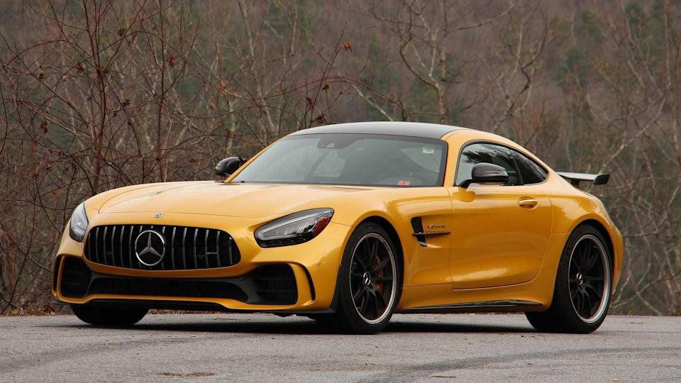 2020 Mercedes-AMG GT R: Driving Notes