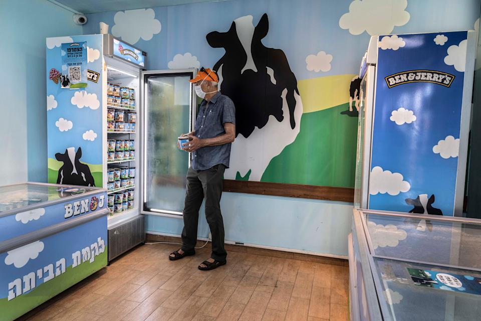 Israel Ben & Jerry's (Copyright 2021The Associated Press All rights reserved)