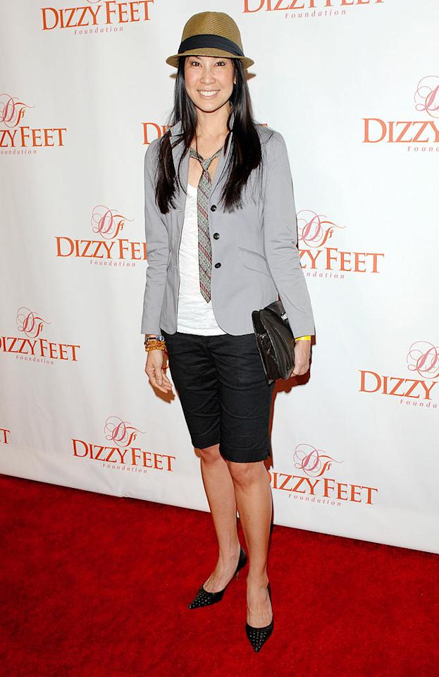"Last but not least ... former ""View"" co-host and current CNN correspondent Lisa Ling, who failed in the evening's least flattering ensemble. Craig Barritt/<a href=""http://www.wireimage.com"" target=""new"">WireImage.com</a> - November 29, 2009"