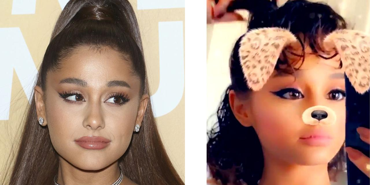 <p>Seeing Ariana without her ponytail is almost as rare as seeing big foot in the wild...it just doesn't happen. That's why it was so shocking when the singer shared a pic, not only of her hair out of her signature 'do, but also with her natural texture. It has been <em>years </em>since we've seen curls on Ari, but this pic proves they have been there all along. <em></em></p>