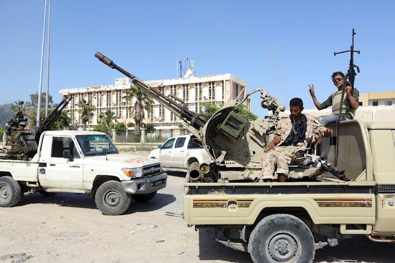 Conflict erupted in Libya in 2011 after the NATO-backed ousting of dictator Moamer Kadhafi (AFP Photo/Mahmud TURKIA)
