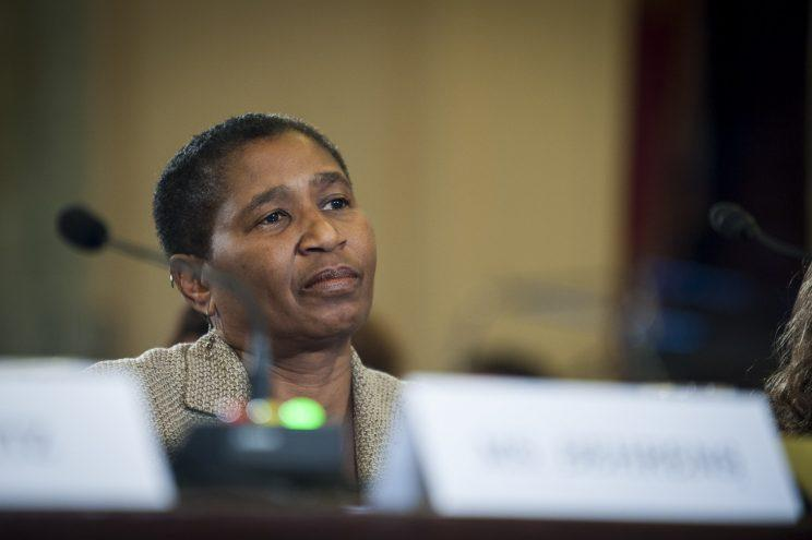 National Basketball Players Association executive director Michele Roberts (Getty Images)