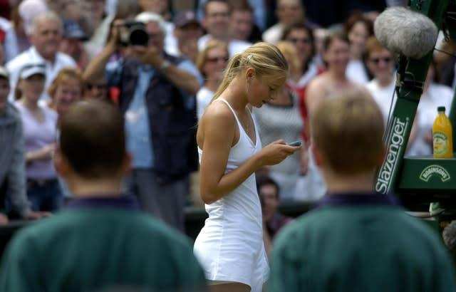 She attempted to call her mother on Centre Court after victory at Wimbledon (Rebecca Naden/PA)