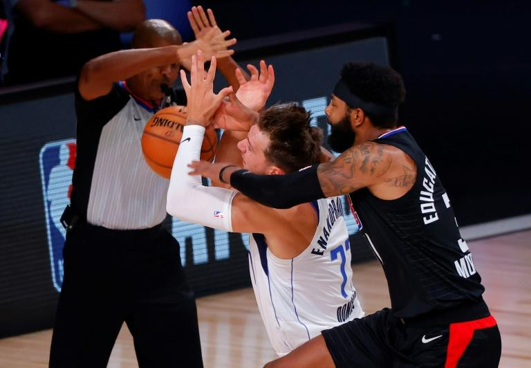 NBA hits Clippers forward Morris with $35K fine, Doncic $15K