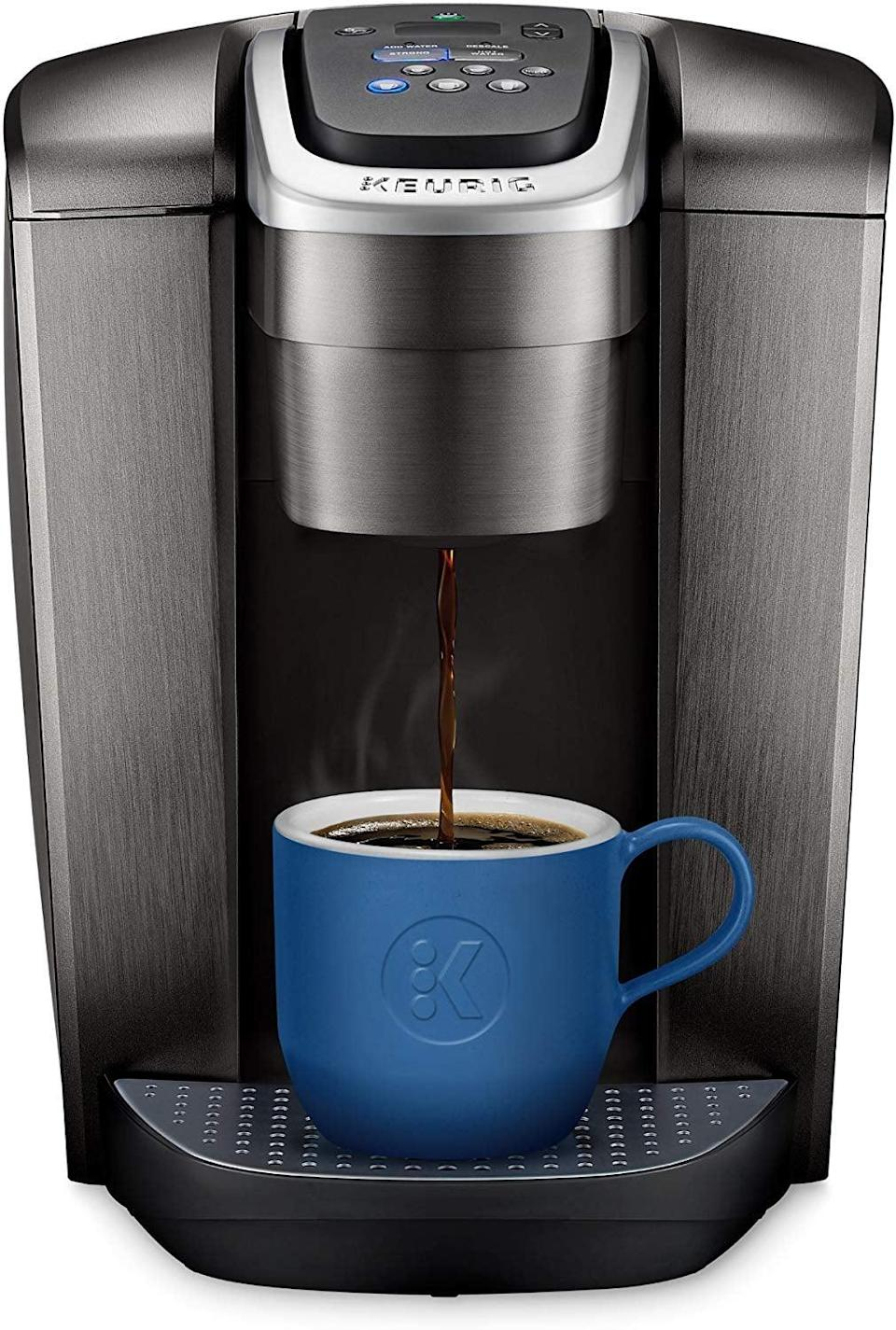 <p>She can enjoy her morning cup of coffee easily with this <span>Keurig Single Serve K-Cup Pod Coffee Maker</span> ($130).</p>