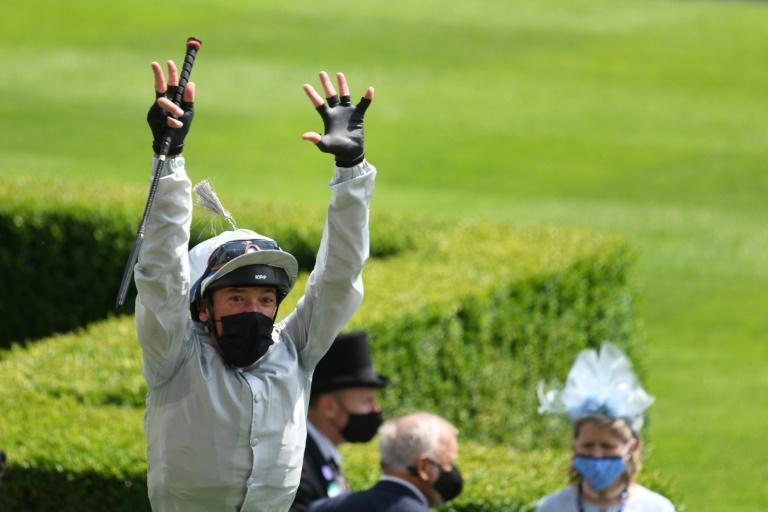 Frankie Dettori won the Queen Anne Stakes on Palace Pier