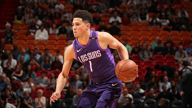 Phoenix Suns big man Alan Williams says Devin Booker has the potential and killer instinct to become a special player in the NBA and could pair nicely with potential NBA first overall pick Deandre Ayton.