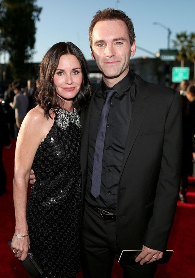 In recent years, Courteney has been in an on-off relationship with Johnny McDaid. Source: Getty