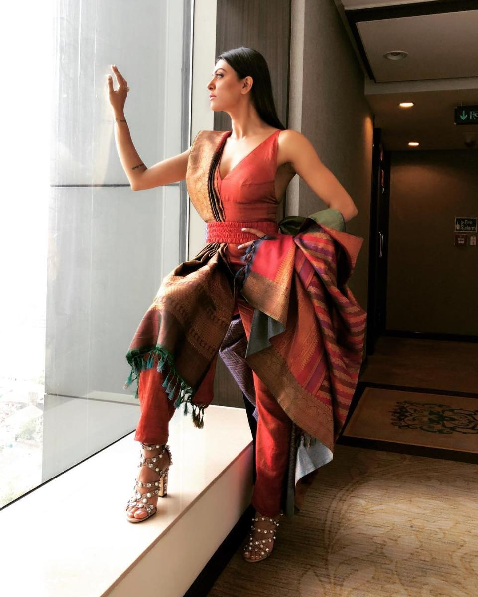 Distancing herself from movies doesn't translate to sitting idle for the mother of two. From 2010 to 2013, after the Times Group relinquished its rights to pick the Indian representative to the Miss Universe pageant, the former Miss Universe stepped in with her project, 'I AM She – Miss India Universe'. In January 2017, she returned to Manila, Philippines, as one of the judges at the 65th Miss Universe agent.