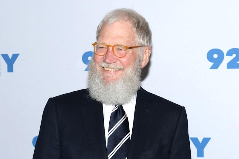 David Letterman says Mike Pence's move to go without a mask at the Mayo Clinic was wrong. (Photo: Andrew Toth/FilmMagic)