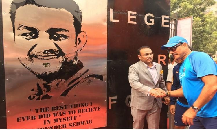 Virender Sehwag excited to inaugurate to name a gate after him