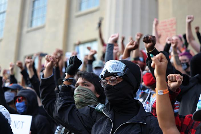 Protests in Louisville over Breonna Taylor ruling  (Getty Images)