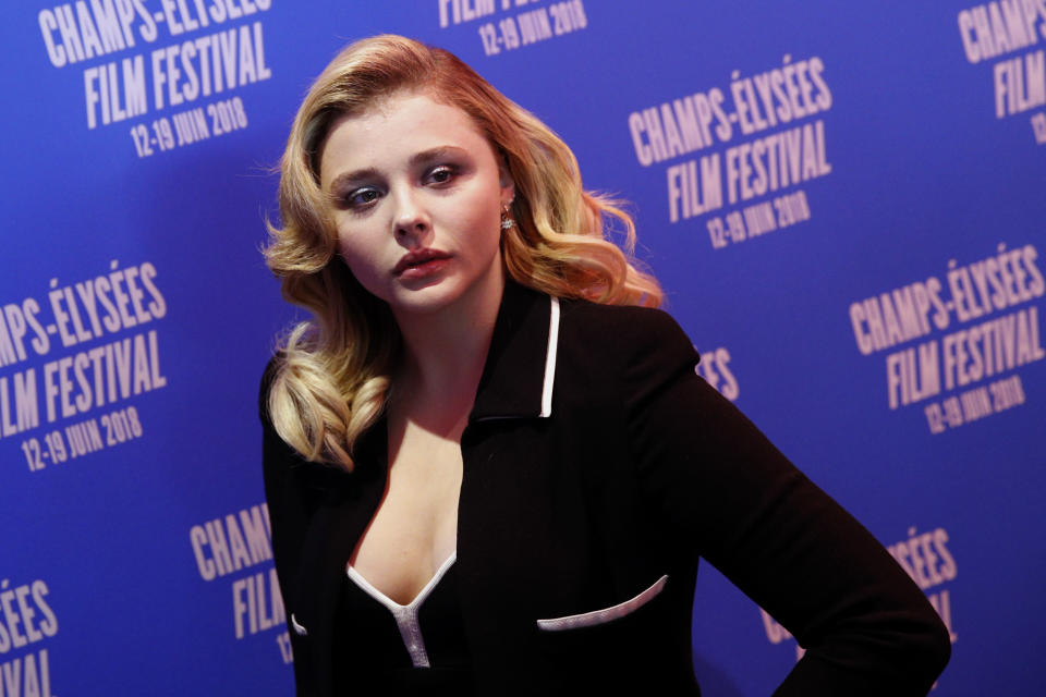 Actress Chloe Grace Moretz (Credit: AP Photo/Christophe Ena)