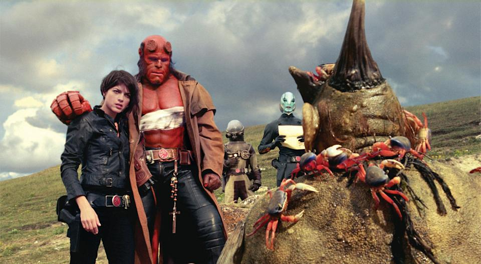 <i>Hellboy II: The Golden Army</i> featured many characters from the BPRD. (Universal)